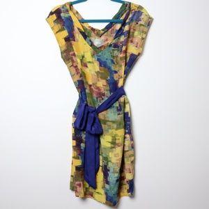 Maeve   Anthro Pixel Impressionist Dress